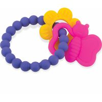 Nuby Flexibele Chewy Charms - Girl
